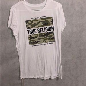 true religion camo shirt